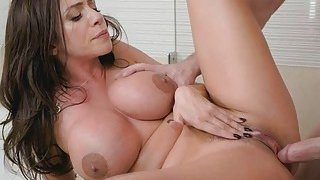 Big tittied Ariella is hungry for Kyles cock Thumbnail