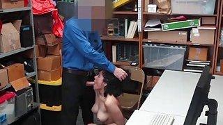 Latina thief Maya Morena gets a hot hardcore fuck Thumbnail