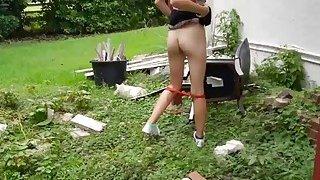 Pretty amateur Czech babe pounded in public for money Thumbnail