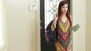 Hot MILF Rachel Starr teaching teen slut how to fuck hard Thumbnail