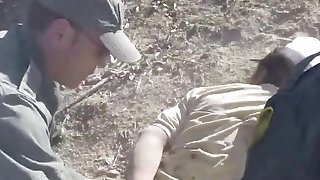 Big cocked border agent fucking blonde immigrant slut Thumbnail