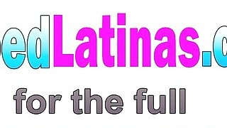 Blonde Latina Luna Star Rides Long Cock Outdoors