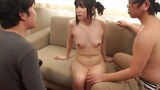 JAV new hire does first scene ENF CMNF Subtitles Thumbnail