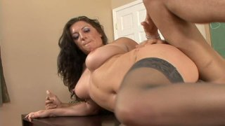 Busty teacher Piper Austin gets pounded in her classroom Thumbnail