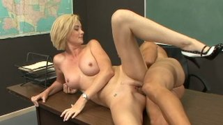 Strict teachers like Camryn Cross also love sex and young cocks Thumbnail