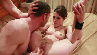 Slim and kinky chick Nikita Bellucci gives a blowjob and gets poked mish Thumbnail