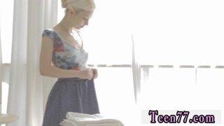 Girl teens guys Mirta gets a sensual massage Thumbnail