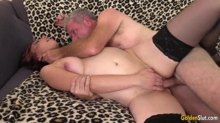 Older Zoe Matthews Gets Eaten out and Stuffed by a Passionate Grandpa Thumbnail