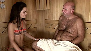 Intergenerational sauna sex Thumbnail